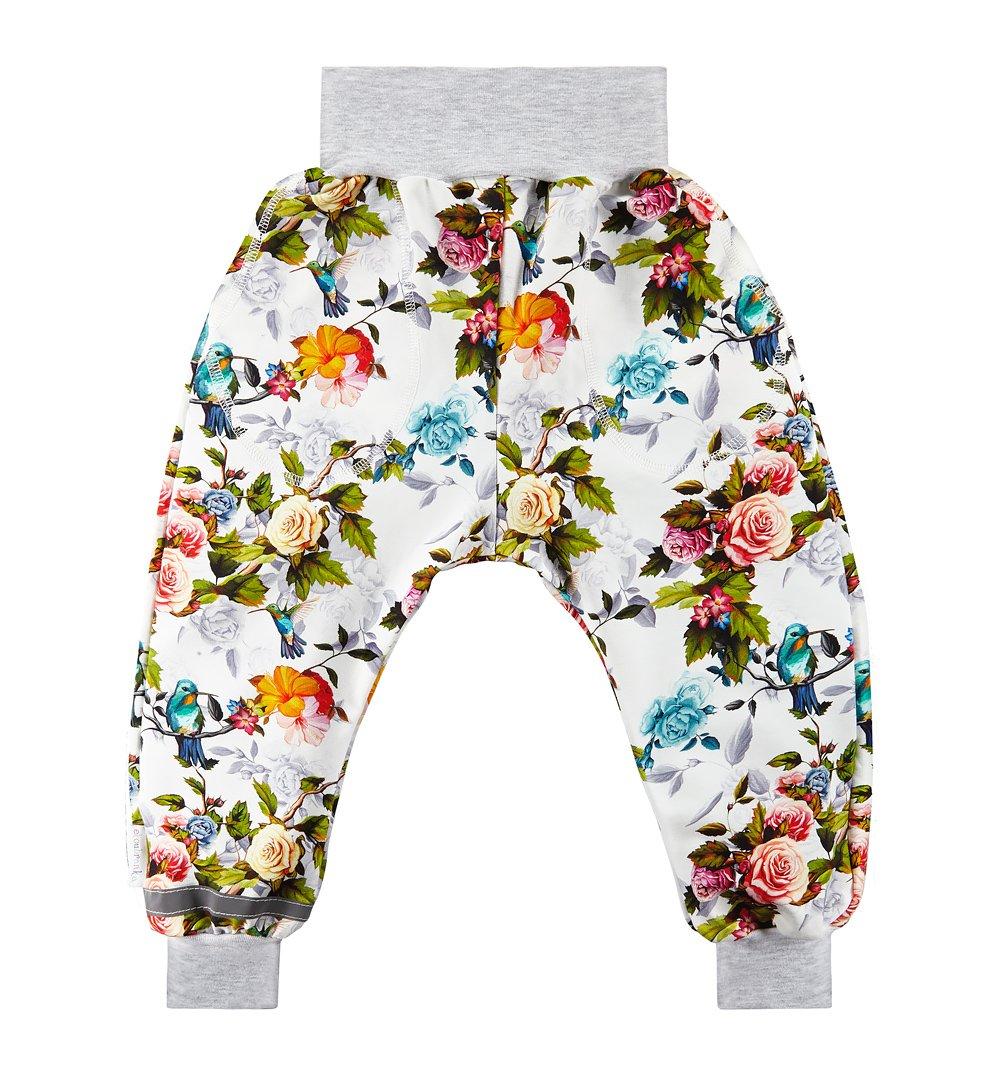 edc6ef323 Spodnie dresowe z motywem w kwiaty multikolor \ Dziecko ...