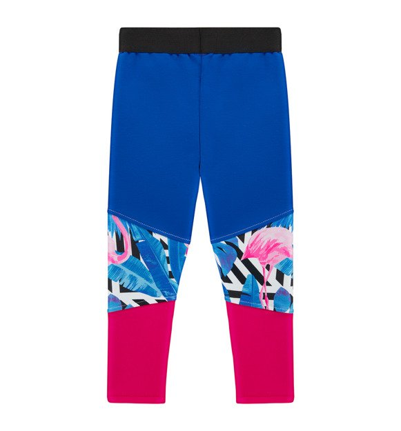 Legginsy we flamingi